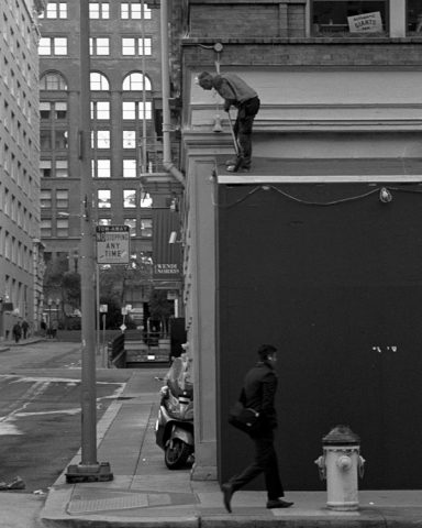 San Francisco. Leica M6. 90mm Voigtlander APO Lanthar. Kodak T-Max 400. D76.